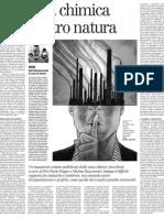 Una Chimica Contro Natura, Il Difficile Rapporto Fra Industria e Ambiente - Il Manifesto 27.03.2013