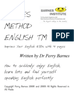 Barnes Method English @ Improve Your English 500% With 4 Pages  Melhorar Seu Ingles Muito