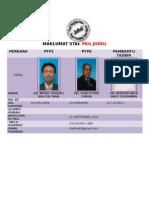 Maklumat Staf Pkg Johol