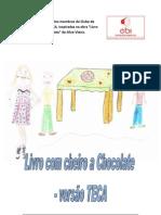 Livro - CHEIRO A CHOCOLATE - versão TECA