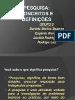 SEMINÁRIO DE METODOLOGIA