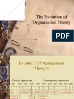 New Org Theory-Introduction History