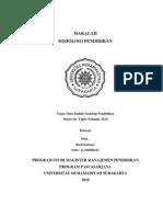 MAKALAH SOSIOLOGI PENDIDIKAN(1)