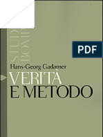Hans Georg Gadamer - Verita e Metodo