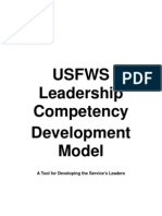 USFWS Leadership Competency Development Model1