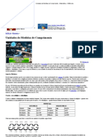 Unidades de Medidas de Comprimento - Matemática - InfoEscola
