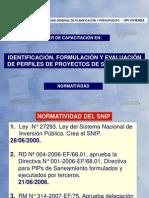 Normatividad SNIP Gral 10Feb09