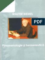 Fenomenologie si Hermeneutica
