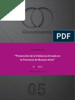 Proyecto Ley Prevencion de La Violencia Armada