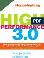 High Performance 3.0 inkijkexemplaar