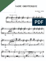 Ravel - Serenade Grotesque