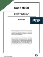 Saab 9000 MY85-94 (Deutsch)