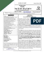 Sikh Bulletin Jan Feb 2008