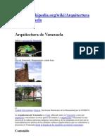 Investigacion de Arquitectura