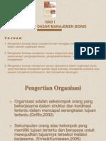 Konsep Dasar Manajemen Bisnis