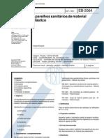 NBR 11778 - Aparelhos Sanitarios de Material Plastic