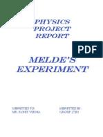 Lab Mannual Melde's Experiment