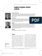 Managing Irregular Airport Operations