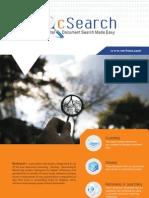 DocSearch - Datasheet