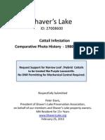 Shaver's Lake Preservation Association - Cattail Infestation Handout