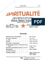 SPIRITUALITÉ « Etre Libre » N° 6 (Mai 1945)