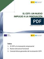 El CDTI