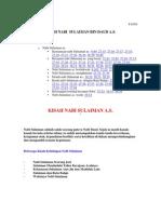 015.Kisah Nabi Sulaiman Bin Daud a.s.