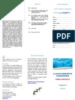 Leaflet Brevetto Comunitario 2013
