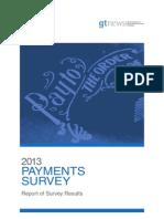 2013 Gtnews Payments Survey