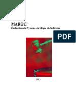 Maroc Evaluation du Système Juridique et Judiciaire