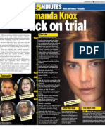 Amanda Knox - Back on trial