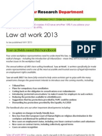 LRD Law at work 2013
