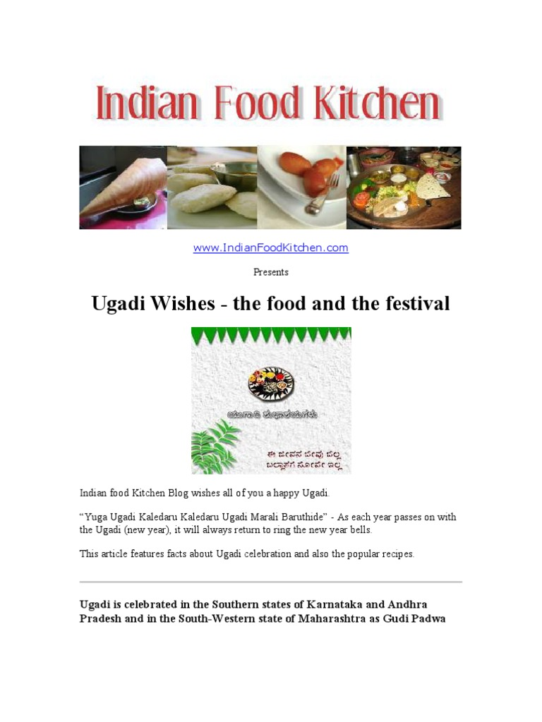6 delicious ugadi recipes from indianfoodkitchen foods 6 delicious ugadi recipes from indianfoodkitchen foods food wine forumfinder Choice Image