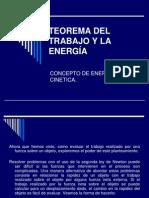 Concepto de Energia Cinetica
