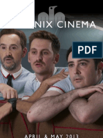 Phoenix Cinema Brochure - April & May 2013