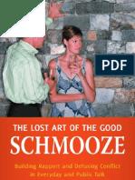 The Lost Art of Good Schmooze