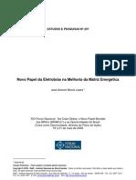 Novo Papel da Eletrobras na melhoria da matriz energética