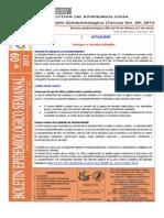 Boletín Semana Epidemiológica 09-2013
