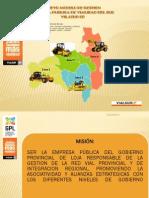 Planificacion Vial de Loja2013