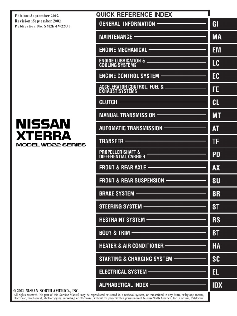 1509633156 2002 xterra service manual pdf 2004 nissan xterra wiring diagram at soozxer.org