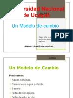 Un Modelo de Cambio(Jose Luis Lopez Rivera)