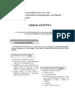 ghid licenta 2009-2010