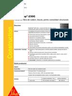 Panza Din Fibre de Carbon Sika Wrap 230C