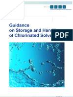 Storage and Handling of Chlorinated Solvents 4