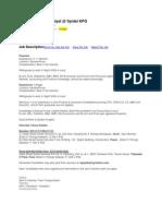 Hiring Financial Analyst (Syntel)