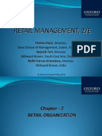 321 33 Powerpoint Slides Chapter 2 Retail Organization