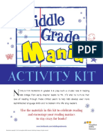 Middle Grade Mania Activity Kit