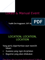 event marketing - 2 - lokasi & manual event