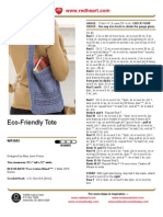 Eco Friendly Tote