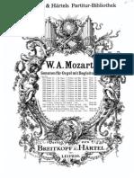 Mozart Sonata Da Chiesa n.3 Do Magg.